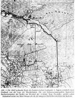Map Wietmarschen 1851